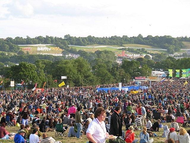 Glastonbury Festival Silent Disco