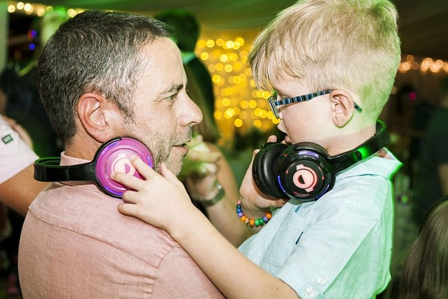 Silent Disco Hire for Children's Parties - Rent Headphones & Book DJ for Kids Party