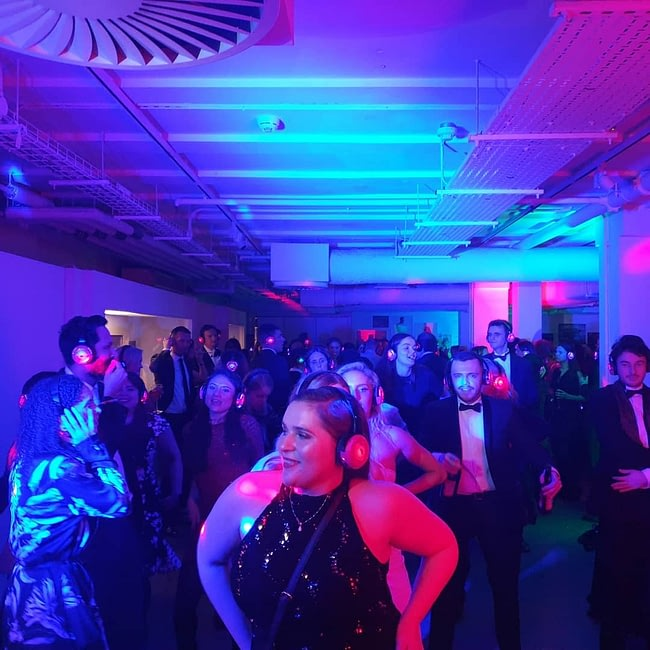 Silent Disco Hire Corporate Events Wiltshire