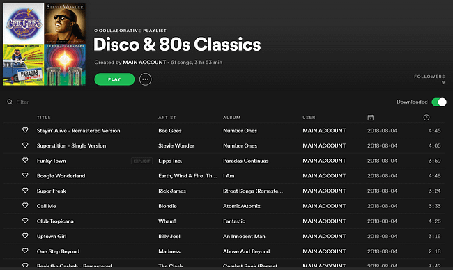 Silent disco playlists with the best silent disco songs