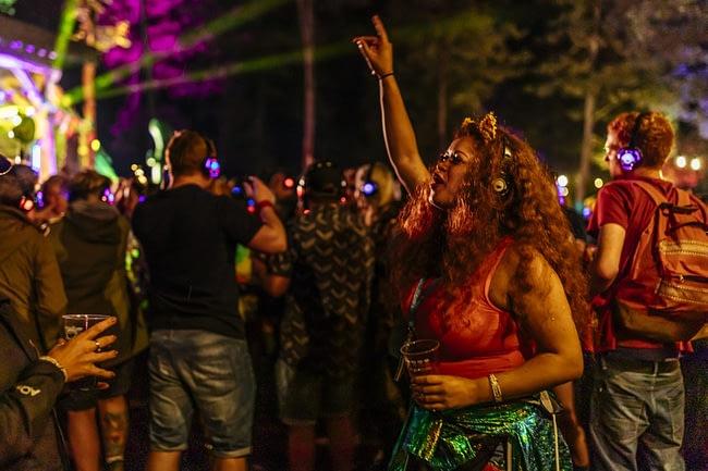 Kendal Calling Festival Silent Disco