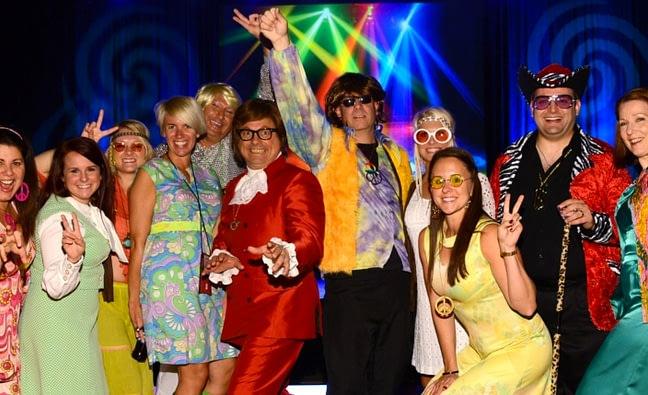 70s theme party ideas & 70s silent disco birthday ideas