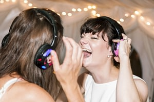 10 Reasons to hire a silent disco wedding