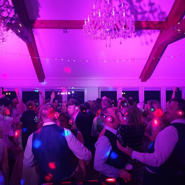 Hire Silent Disco Headphones & Equipment for Weddings Glasgow & Scotland