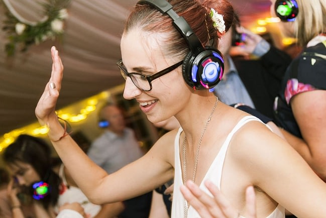 Silent Disco Equipment DJ Hire